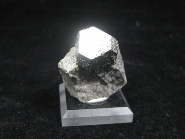 Single Carrolite Crystal on Matrix, Dem. Rep. of Congo