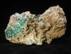 Dioptase and Calcite Specimen, Tsumeb (Cab)