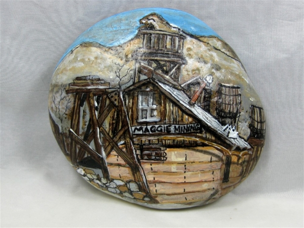 """Painted Rock, """"Maggie Mining"""""""