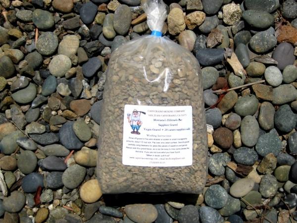 Montana Eldorado Bar Sapphire Gravel, 10 pounds, + 20 carats add