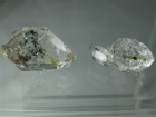 2 Double Terminated Quartz Crystal with Petroleum Inclusions, 14.37 ctw