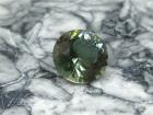 Oregon Sunstone, 1.38 cts., Green Round Cut