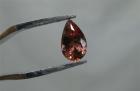 Oregon Sunstone, 1.13 cts., Red Pear Cut