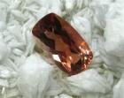 Oregon Sunstone, 2.40 cts., Reddish Orange, Modified Cushion Cut